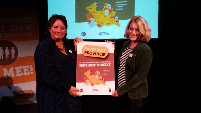 Stichting Bunnik Fairtrade trots op provinciale status