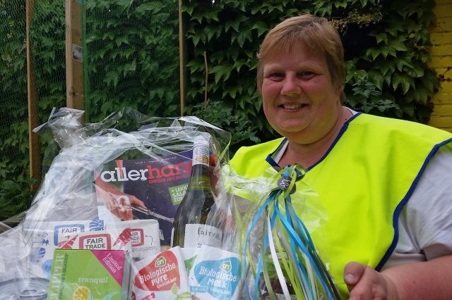 Winnaar loterij Bunnik Fairtrade